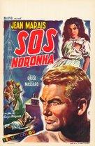S.O.S. Noronha - Belgian Movie Poster (xs thumbnail)