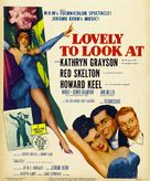 Lovely to Look at - Theatrical poster (xs thumbnail)
