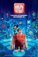 Ralph Breaks the Internet - British Movie Poster (xs thumbnail)