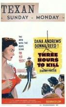 Three Hours to Kill - Movie Poster (xs thumbnail)