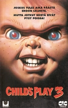 Child's Play 3 - Finnish VHS movie cover (xs thumbnail)