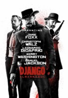 Django Unchained - Hungarian Movie Poster (xs thumbnail)