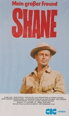 Shane - German VHS movie cover (xs thumbnail)