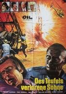 Cuibul salamandrelor - German Movie Poster (xs thumbnail)