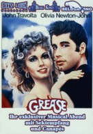 Grease - German Movie Poster (xs thumbnail)