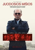 Black Mass - Lithuanian Movie Poster (xs thumbnail)