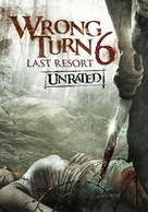 Wrong Turn 6: Last Resort - DVD cover (xs thumbnail)