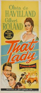 That Lady - Australian Movie Poster (xs thumbnail)