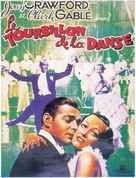 Dancing Lady - French Movie Poster (xs thumbnail)