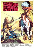 Custer of the West - Spanish Movie Poster (xs thumbnail)