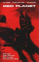 Red Planet - German VHS cover (xs thumbnail)