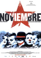 Noviembre - Spanish Movie Poster (xs thumbnail)