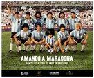 Amando a Maradona - Argentinian poster (xs thumbnail)