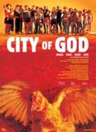 Cidade de Deus - Danish Movie Poster (xs thumbnail)