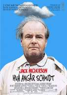 About Schmidt - Norwegian Movie Poster (xs thumbnail)