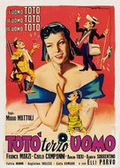 Totò terzo uomo - Italian Movie Poster (xs thumbnail)