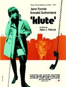 Klute - French Movie Poster (xs thumbnail)