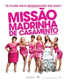 Bridesmaids - Brazilian Movie Poster (xs thumbnail)
