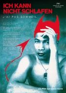 J'ai pas sommeil - German DVD cover (xs thumbnail)