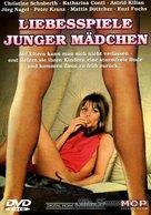 Liebesspiele junger Mädchen - German DVD cover (xs thumbnail)