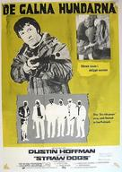 Straw Dogs - Swedish Movie Poster (xs thumbnail)