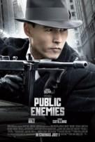 Public Enemies - British Movie Poster (xs thumbnail)