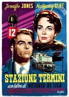 Stazione Termini - Italian Movie Poster (xs thumbnail)