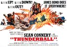 Thunderball - British Movie Poster (xs thumbnail)