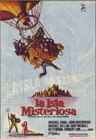 Mysterious Island - Spanish Movie Poster (xs thumbnail)