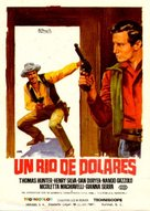 Fiume di dollari, Un - Spanish Movie Poster (xs thumbnail)