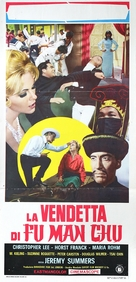 The Vengeance of Fu Manchu - Italian Movie Poster (xs thumbnail)