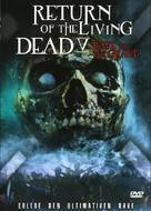 Return of the Living Dead 5: Rave to the Grave - German DVD cover (xs thumbnail)