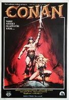 Conan The Barbarian - Turkish Movie Poster (xs thumbnail)