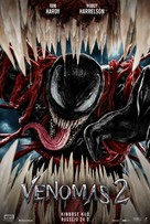 Venom: Let There Be Carnage - Lithuanian Movie Poster (xs thumbnail)