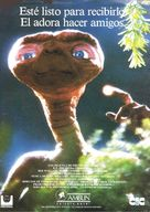 E.T.: The Extra-Terrestrial - Spanish VHS movie cover (xs thumbnail)