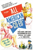 All-American Co-Ed - Movie Poster (xs thumbnail)
