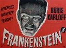 Frankenstein - British Movie Poster (xs thumbnail)