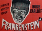 Frankenstein - British Movie Poster (xs thumbnail)