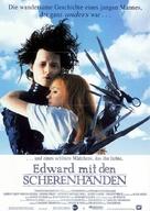 Edward Scissorhands - German Movie Poster (xs thumbnail)