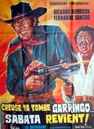 Abre tu fosa, amigo, llega Sábata... - French Movie Poster (xs thumbnail)