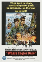Where Eagles Dare - Australian Movie Poster (xs thumbnail)