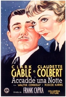 It Happened One Night - Italian Movie Poster (xs thumbnail)