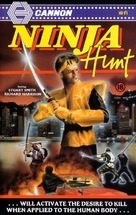 Ninja Hunt - British Movie Cover (xs thumbnail)