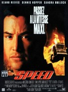 Speed - French Movie Poster (xs thumbnail)