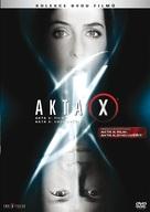 The X Files - Czech DVD cover (xs thumbnail)