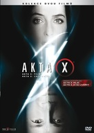 The X Files - Czech DVD movie cover (xs thumbnail)