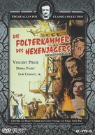 The Haunted Palace - German DVD movie cover (xs thumbnail)