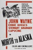 North to Alaska - Movie Poster (xs thumbnail)