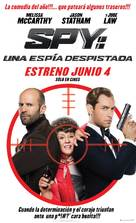 Spy - Argentinian Movie Poster (xs thumbnail)