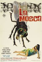 The Fly - Spanish Movie Poster (xs thumbnail)
